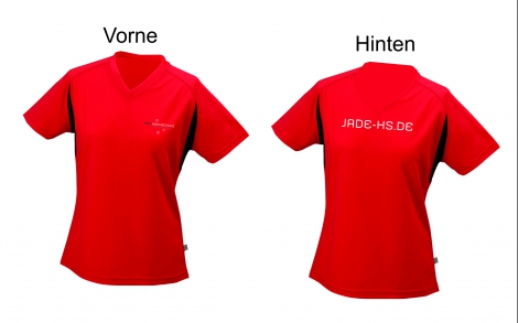 Ladies' Running Shirt, rot